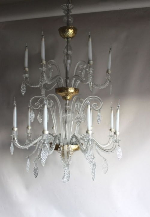 Large Antique Chandeliers - part of our Antique Lighting Range - image 4