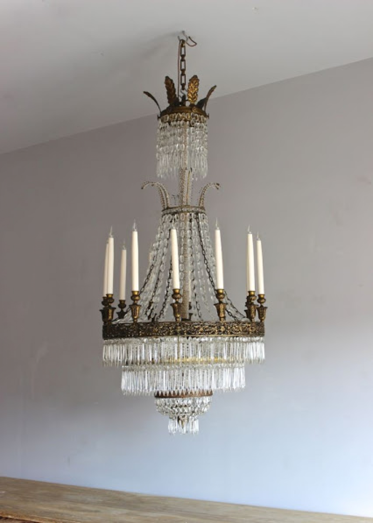 Large Antique Chandeliers - part of our Antique Lighting Range - image 6 - Large Antique Chandeliers - Part Of Our Antique Lighting Range