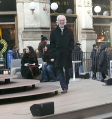 MAURICE ON THE CATWALKS OF MILAN