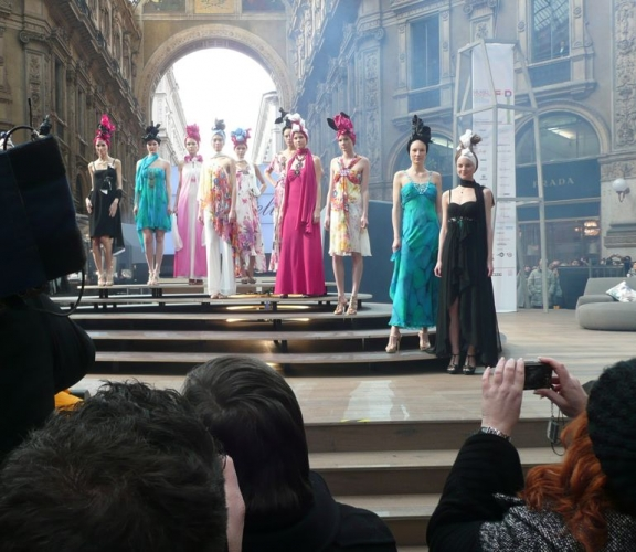 MAURICE ON THE CATWALKS OF MILAN - image 2