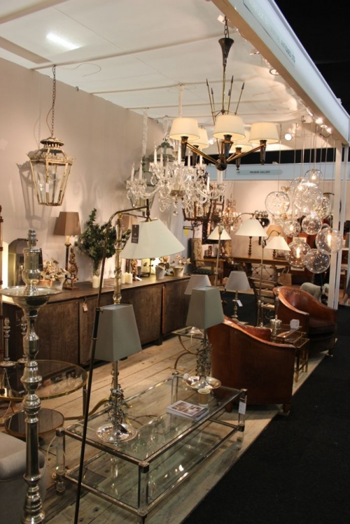 Our Antique lighting at the Decorative Fair until Sunday 26th - image 2