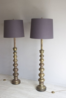 Pairs of antique  floor lamps , a big part of our antique lighting range