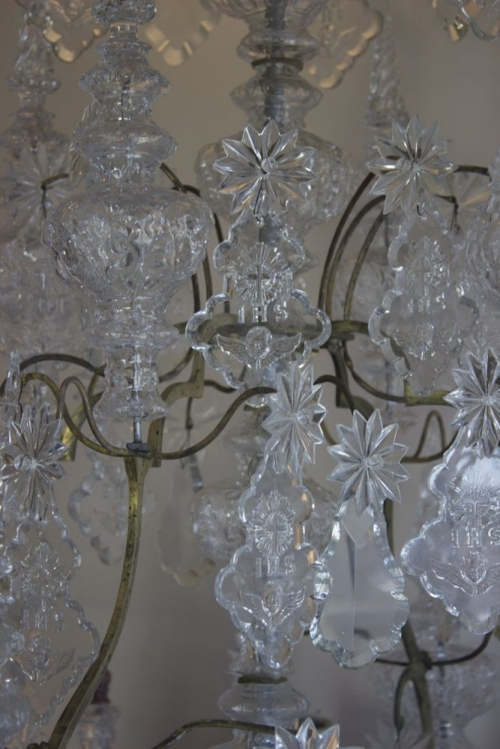 Restoration project - Antique Chandelier from frame to fairy tale - image 5