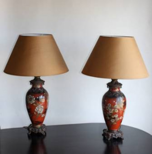Three sets of pottery lamps - image 3
