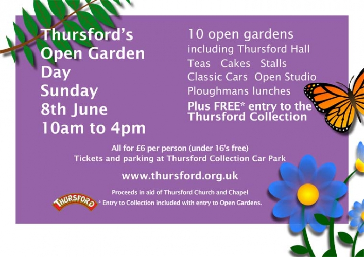 Thursford Green - Our village gardens - Main image