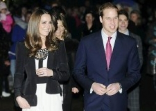 WILLIAM AND KATE VISIT OUR VILLAGE