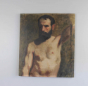 19thC life study - oil on canvas - picture 2