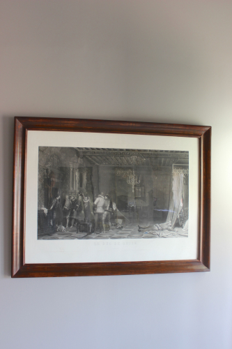 Country house engravings by Alfred Johannot