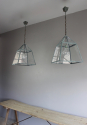 Country kitchen lanterns in Verdigris - picture 3