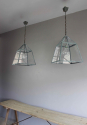 Country kitchen lanterns in Verdigris - picture 4