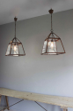 English country house kitchen lanterns - picture 2