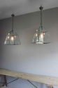 English country house kitchen lanterns - picture 5