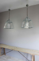 English country house kitchen lanterns - picture 6
