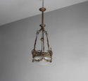 French gothic converted gasolier - picture 3