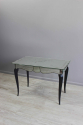 French mirrored glass side table - picture 4