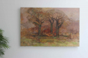 Large scale  Country House  oil on board by Keith Johnson - picture 3