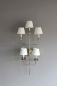 Large single elegant  illuminated wall sconce - Main