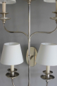 Large single elegant  illuminated wall sconce - picture 2