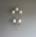 Large single elegant  illuminated wall sconce - picture 4