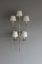 Large single elegant  illuminated wall sconce - picture 5