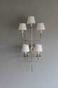 Large single elegant  illuminated wall sconce - picture 6