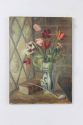 Oil on canvas - tulips in a vase - picture 2