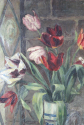 Oil on canvas - tulips in a vase - picture 3