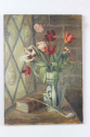 Oil on canvas - tulips in a vase - picture 6
