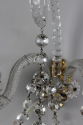Pair of cut glass wall sconces - picture 3