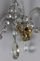 Pair of cut glass wall sconces - picture 4