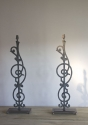 Pair of French balustrade lamps - picture 3