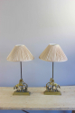 Pair of Valenti horse motif bedside lamps - Main