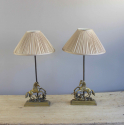 Pair of Valenti horse motif bedside lamps - picture 2