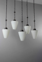 Set of 5  gothic style hanging lights ( more available ) - Main