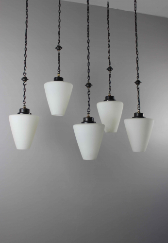 Set of 5  gothic style hanging lights ( more available )