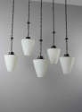 Set of 5  gothic style hanging lights ( more available ) - picture 5
