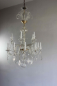 Simple beautiful glass armed antique chandelier - picture 3
