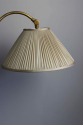 Spanish gilt metal  adjustable height floor lamp - picture 5